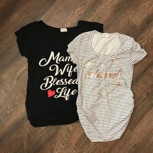 Tops - 2 Maternity tops